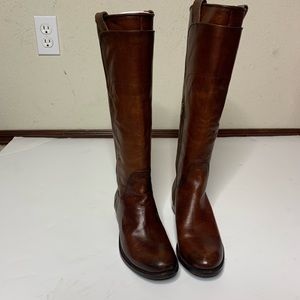 Frye Melissa Boots! Brown Leather Sz 6